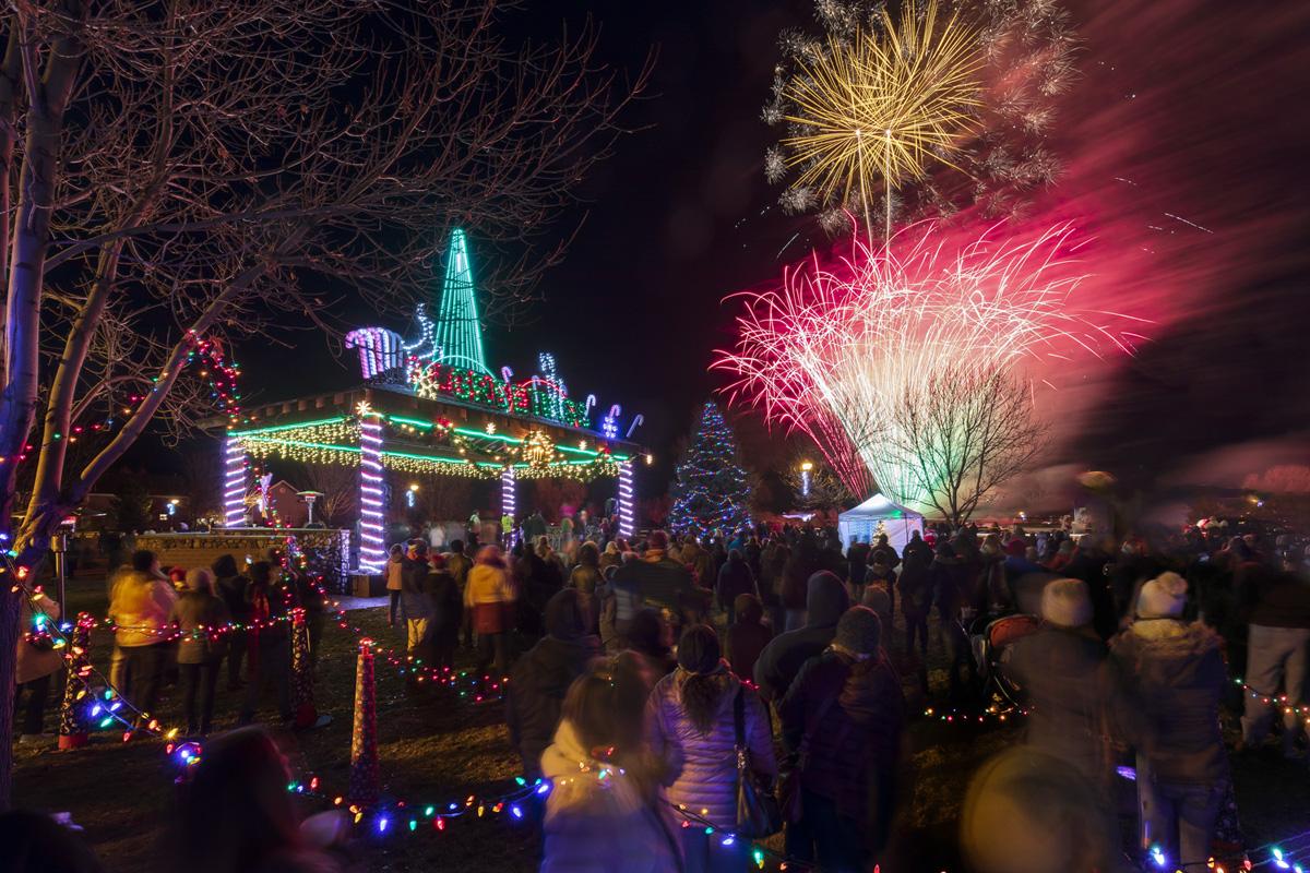 Christmas Kickoff Fireworks 2019