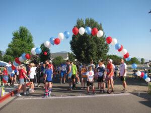 Fun Run starting